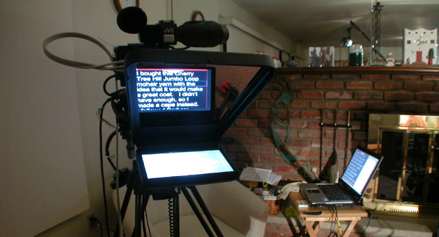 ProPrompter and notebook